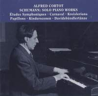 Alfred Cortot plays Solo Piano Works by Schumann