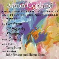 Copland: Four Unpublished Cello Pieces