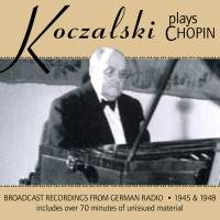 Koczalski Plays Chopin
