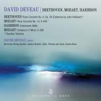 David Deveau plays Beethoven, Mozart and Harbison