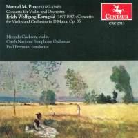 Ponce & Korngold: Violin Concertos