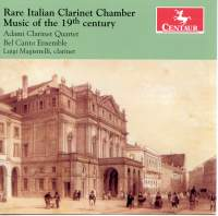 Rare Italian Clarinet Chamber Music of the 19th Century