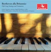 Beethoven alla Brittania: Folk Song Settings & Variations