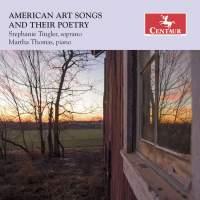 American Art Songs & Their Poetry