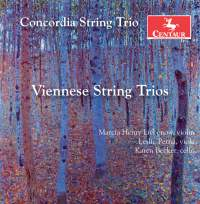 Zellner & Perger: String Trios
