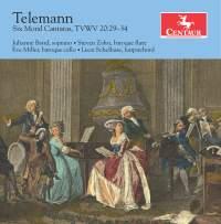 Telemann: 6 Moral Cantatas, TWV 20:29-34