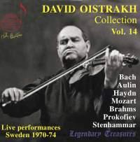 Oistrakh Collection, Vol. 14: Live from Sweden