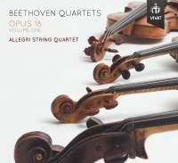 Beethoven: Quartets Opus 18, Volume 1