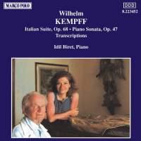 Wilhelm Kempff: Bach Transcriptions & Original Works
