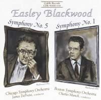 Easley Blackwood: Symphonies Nos. 5 & 1