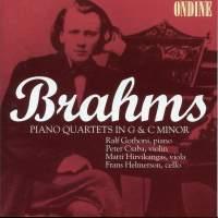 Brahms: Piano Quartets Nos. 1 & 3