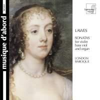 Lawes: Sonatas for Violin, Bass Viol & Organ