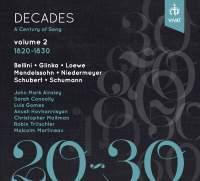 Decades: A Century of Song Vol. 2 1820 - 1830