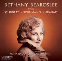 Bethany Beardslee sings Schubert, Schumann and Brahms