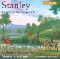 Stanley, J: Concertos for strings Op. 2 Nos. 1-6