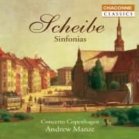 Scheibe - Sinfonias