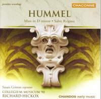 Hummel: Mass in D minor & Salve regina