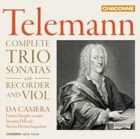 Telemann: Complete Trio Sonatas with Recorder and Violin