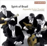 Aquarelle Guitar Quartet: Spirit of Brazil