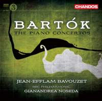 Bartók: Piano Concertos Nos. 1, 2 & 3 (complete)