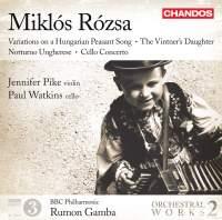 Miklós Rózsa: Orchestral Works Volume 2