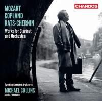 Mozart, Copland & Kats-Chernin: Works for Clarinet & Orchestra