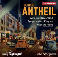 Antheil: Orchestral Works, Vol. 1
