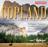 Copland: Orchestral Works, Vol. 3