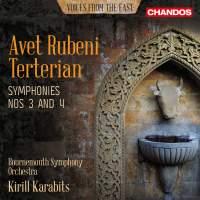 Avet Rubeni Terterian: Symphony Nos. 3 and 4