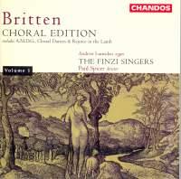 Britten Choral Edition Volume 1