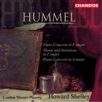 Hummel, J: Piano Concerto in F major, Op. post. I, etc.
