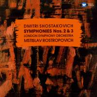 Shostakovich: Symphonies Nos. 2, 'To October' & 3, 'First of May'