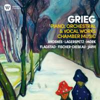 Grieg: Piano, Orchestral, Chamber and Vocal Works