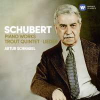 Schubert: Piano Works, Trout Quintet, 7 Lieder