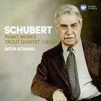 Schubert: Piano Works, Trout Quintet, 7 Lieder