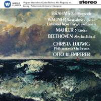 Brahms, Wagner, Beethoven: Christa Ludwig