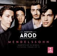 Mendelssohn: String Quartets Nos. 2 & 4