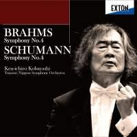 Brahms: Symphony No. 4, Schumann: Symphony No. 4