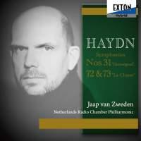 Haydn Vol. II: Symphonies No. 31 ''Hornsignal'', No. 72 & No. 73''La Chasse''