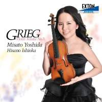 GRIEG: Violin Sonata No. 3 in C Minor Op. 45 Etc.