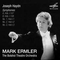Haydn: Symphonies 'A', 'B', Nos. 1 - 3