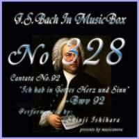 Cantata No. 92, 'Ich hab in Gottes Herz und Sinnt'', BWV 92