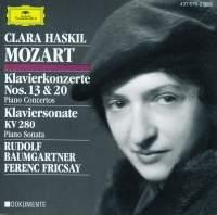 Mozart: Piano Concertos Nos. 13 & 20
