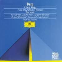 Berg: Lieder