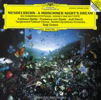 Mendelssohn: A Midsummer Night's Dream - incidental music, Op. 61