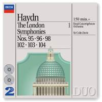 Haydn - The London Symphonies Volume 1