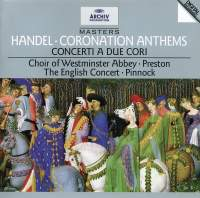 Handel: Coronation Anthems Nos. 1-4, etc.