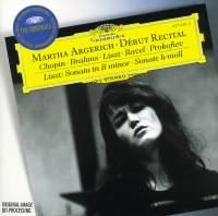 Martha Argerich, Debut Recital