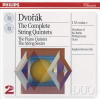 Antonin Dvorak - Complete String Quintets