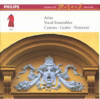 Mozart Complete Edition Box 12 - Arias, Vocal Ensembles, etc.